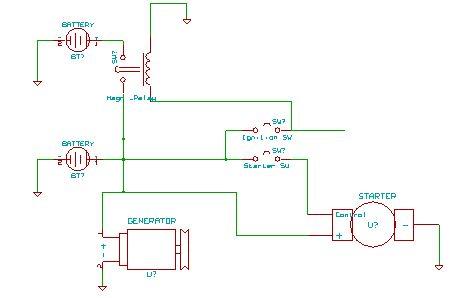 Схема подключения 2й АКБ с